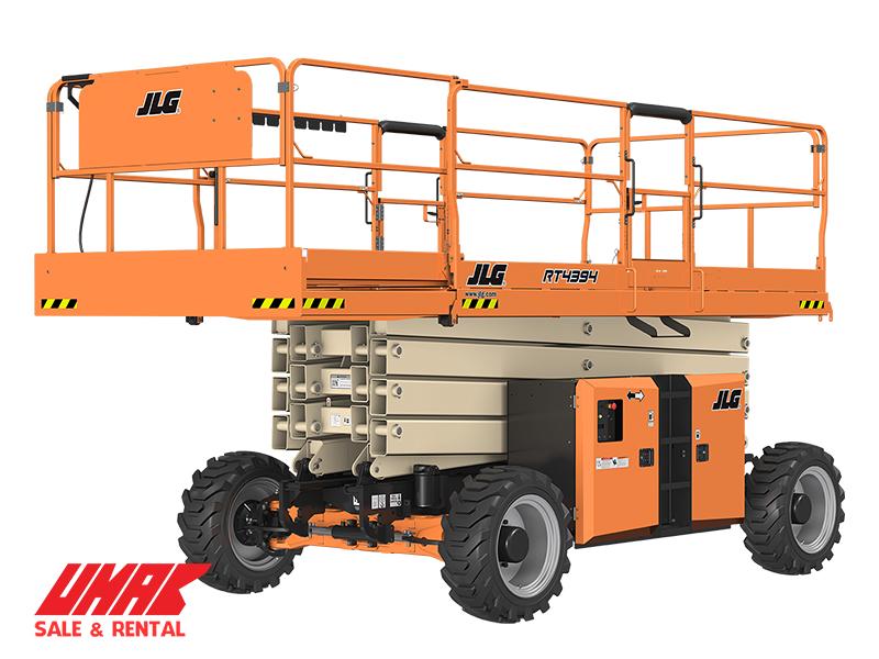 Xe nâng người cắt kéo 15m JLG RT4394